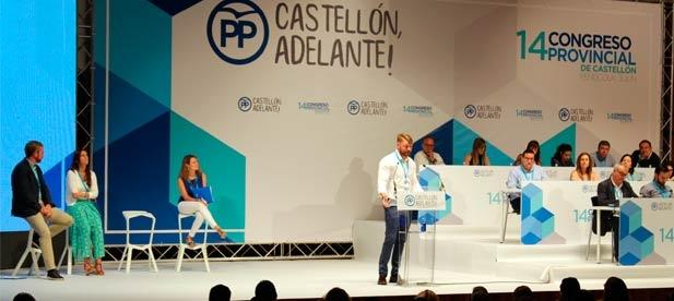 Iván Sánchez ha defendido para la provincia de Castellón en el 14 Congreso del PPCS