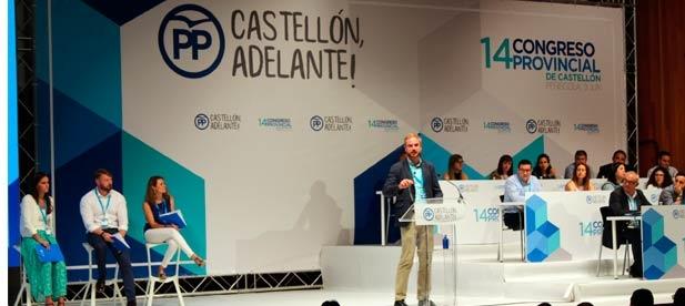 """Clavell ha participado en la elaboración de la ponencia """"+ Castellón"""""""