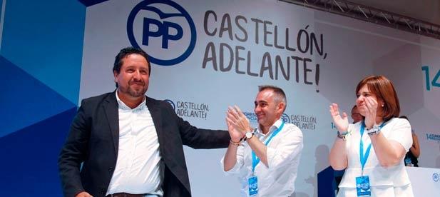 """El nuevo presidente del PPCS ha advertido que """"a nosotros nos une la libertad, el respeto y la unidad porque pensamos igual que la gente de Castellón"""""""