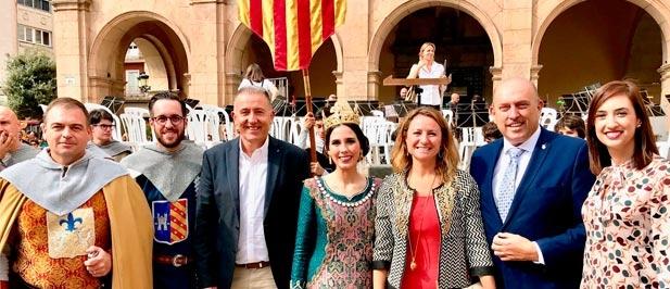 """Carrasco: """"El 9 d'Octubre es algo más que una fiesta. Ser valencianos no es, ni mucho menos, ser una tierra en la que se habla valenciano, mucho menos donde se imponga el valenciano."""""""
