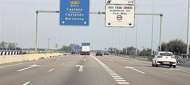 Los populares registran una moción para exigir que el equipo de gobierno se una a su reivindicación de que no se cobren peajes en la AP7 y la A7 en Castellón
