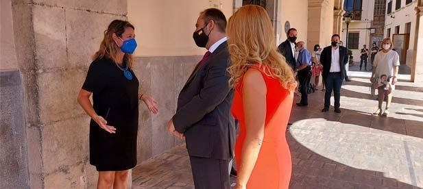 """Carrasco ha afeado al ministro que """"venga a Castellón con las manos vacías tras los recortes de los últimos años en materia de transportes y movilidad"""""""