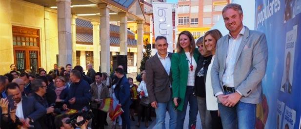 Castellón ha sido el lugar escogido por los populares para dar el pistoletazo de salida de la campaña electoral