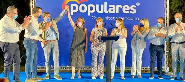 La cita contó con la participación de la portavoz del Partido Popular en el Congreso de los Diputados, Cuca Gamarra