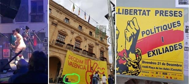 """Carrasco: """"Está claro que los radicales campan a sus anchas en la ciudad de Castellón. Compromís se encarga del montaje de los actos, y el PSPV de Amparo Marco calla y consiente"""""""