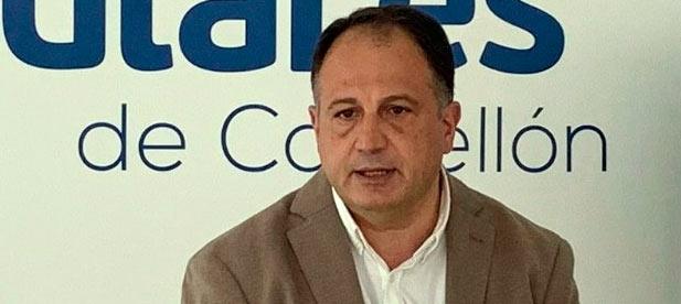 """""""Las obras del puerto de Querol que licitó el PP, deberían haber culminado en 2020, como la conexión entre Vinaròs y Ulldecona, otro proyecto del PP retrasado"""", explica el secretario general del PPCS, Salvador Aguilella"""