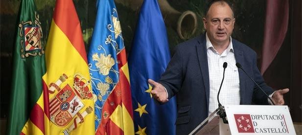 """Salvador Aguilella, diputado provincial del PP, lamenta que """"mientras miles de familias pierden su empleo, el PSOE se niega a ayudarles y les asfixia con tributos predatorios"""""""