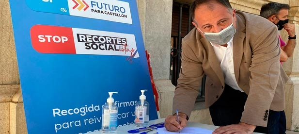 """El secretario general del PPCS, Salvador Aguilella, reclama diálogo y soluciones para """"regularizar el sector energético sin cargas y promoviendo inversiones"""""""