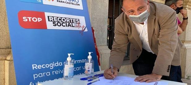 El PP exige en el pleno de la Diputación que el PSOE deje de dar la espalda a los sanitarios a los que despide y ningunea en un ataque letal a los estatutos del centro