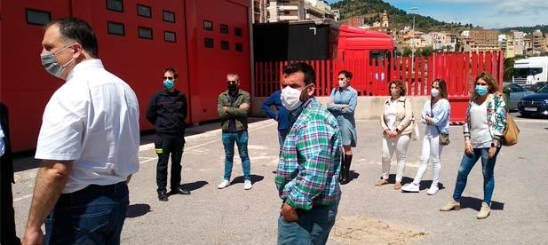 """Las obras de las instalaciones que el PP construyó en l'Alcora y que estaban pendientes de rematar no han avanzado en dos años privando a la comarca de un """"servicio esencial"""""""