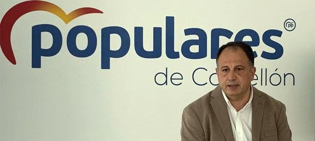 """Aguilella: """"5.000 firmas de la provincia pagan un recargo de más del 30 % que podrían destinar a garantizar riqueza al territorio y empleo a miles de castellonenses"""""""