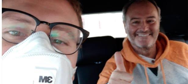 Alberto Fabra emprende el viaje hacia su domicilio particular