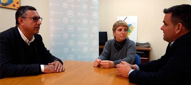 El alcalde, Juanjo Carreres, se reúne en Diputación con José Martí para financiar la Mostra Prehistòrica después de que el PSOE haya eliminado las ayudas