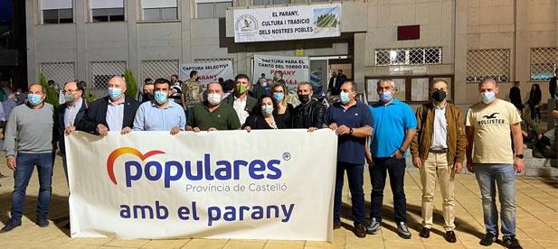 """""""Hoy, en l'Alcora, de la mano de Apaval, exigimos a PSOE y Compromís que cumplan la ley. Frente a su integrismo, libertad y justicia"""", señala Vicente Pallarés (PP)"""