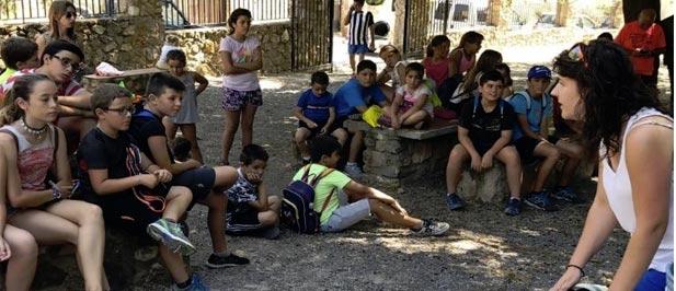 Más de 50 escolares de Alfondeguilla participan en el campus infantil que organiza la Federación de Caza.