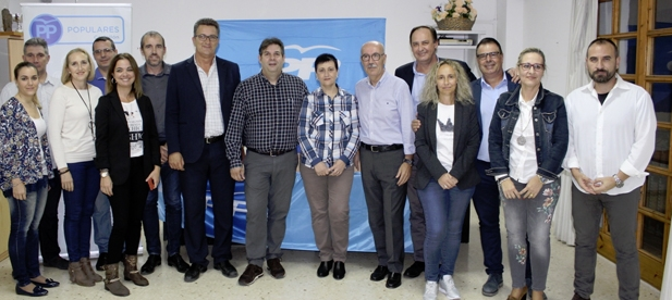 """Martínez: """"En Alfondeguilla he encontrado un equipo con ilusión y ganas de trabajar por el proyecto del Partido Popular"""""""