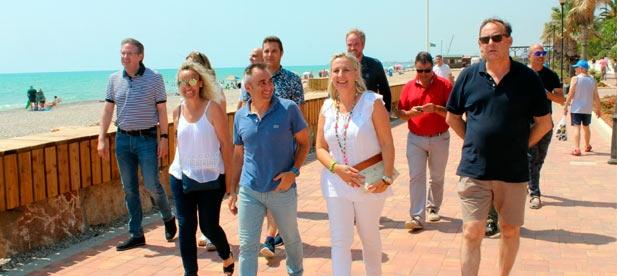 """Barrachina: """"Uno de cada tres euros invertidos en el litoral de la Comunitat Valenciana, ha sido para la Costa de Azahar"""""""