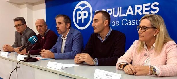 """Alós: """"Invitamos al presidente Ximo Puig a que visite cualquier municipio de nuestra costa para comprobar, in situ, la gravedad de una plaga que sí existe"""""""