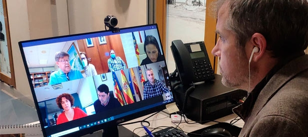 Alós ha insistido en que se dé prioridad alta en su reunión con la directora general de Costas y el subdirector general de Protección de la Costa
