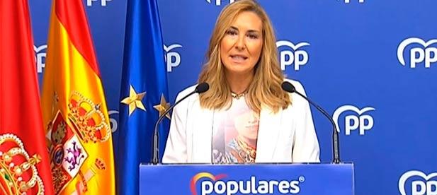 La vicesecretaria nacional de Organización del PP, Ana Beltrán