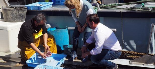 """Un mes después de que el PP llevara a Diputación la situación límite de los pescadores por el castigo ejercido por el Gobierno del PSOE """"nada se ha hecho y es urgente actuar ya"""""""