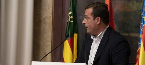 """Andrés Martínez, diputado provincial del PP, considera que """"recortar los fondos en un momento tan crítico es demostrar lo poco que importa Castellón a quienes gobiernan"""""""