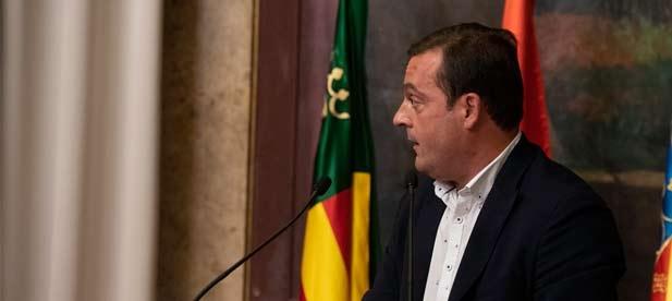 """Andrés Martínez, diputado provincial del PP, considera que """"las palabras están muy bien pero de nada sirven los acuerdos si luego se ignoran. La gente quiere llegar a fin de mes"""""""