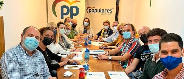 La reunión del COC se celebró en las nuevas instalaciones de la Junta Local de Castellón