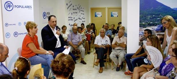 Los afiliados del PP de Onda han elegido la candidatura de Salvador Aguilella de forma unánime