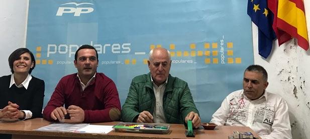 Grañana sustituirá a Carlos Roda como presidente local del PP de Traiguera.