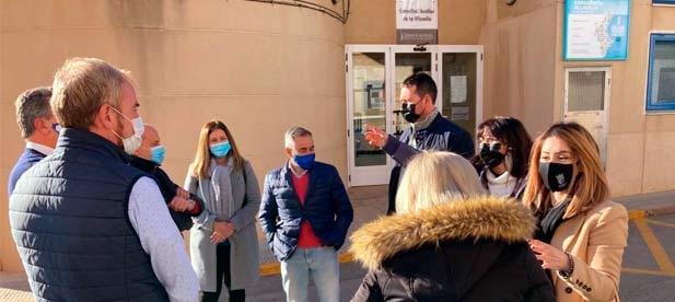 Los populares visitan Moncofa y Vilavella ante los recortes de la Generalitat en sus ambulatorios en plena pandemia, que saturan la atención de Nules