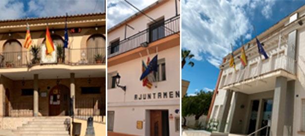 Torás, Onda, Segorbe, Canet lo Roig, la Torre d'en Besora o Vall d'Alba muestran su respeto por los fallecidos en España por la pandemia de la COVID-19