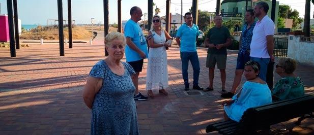 """La moción presentada por el PP en julio y que fue aprobada como declaración institucional """"debe garantizar la inversión que ponga freno a la regresión del litoral"""""""