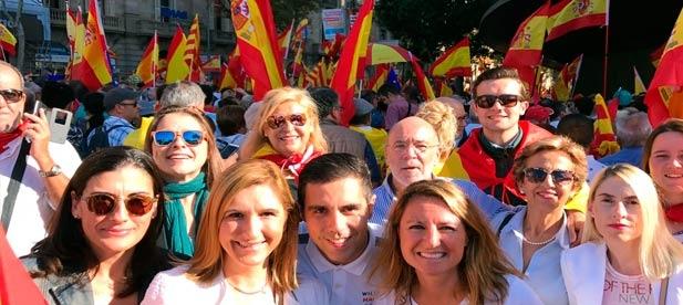 El PPCS en defensa de la libertad y por la unidad de España