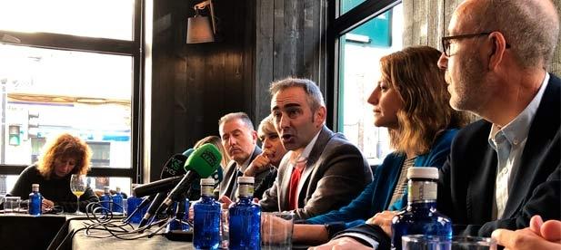 """Barrachina considera que """"en 2018, el Gobierno del PSOE no ha podido parar a Castellón pero ya ha empezado a frenarnos"""""""