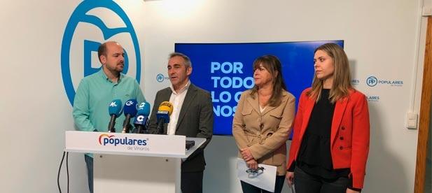 """Barrachina: """"En una provincia pequeña como Castellón, votar al PP es la única alternativa para desalojar a Sánchez de la Moncloa"""""""