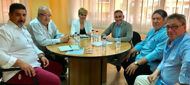 Barrachina ha querido conocer las principales preocupaciones del colectivo en la provincia de Castellón.
