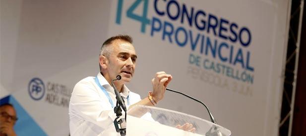 Barrachina ha lamentado hoy que el presidente de la Generalitat Ximo Puig sea un rehén de los radicales de Compromís y que no actúe como un hombre de Estado