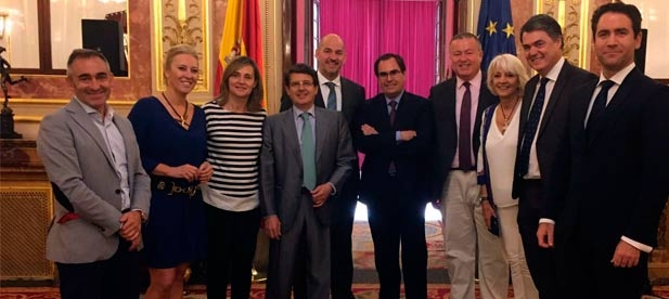 Los diputados del Partido Popular de todas las provincias del arco mediterráneo han constituido un nuevo grupo de trabajo en el Congreso de los Diputados para lograr las mayores prestaciones del Corredor Mediterráneo.