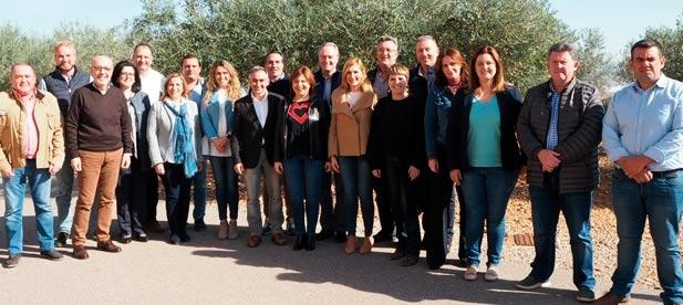 Los populares celebran una reunión interparlamentaria para reclamar inversiones e infraestructuras para Castellón ante los bloqueos de la izquierda