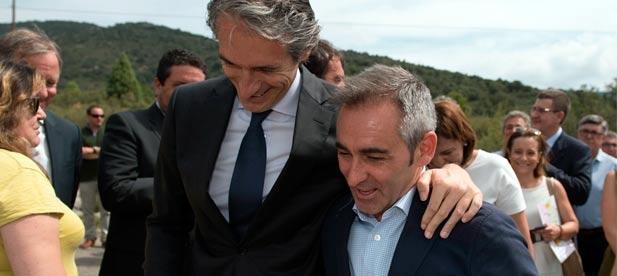 """Barrachina: """"Nuestro modelo es el de apostar por infraestructuras útiles que hagan rentable el territorio y generen oportunidades en Castellón"""""""