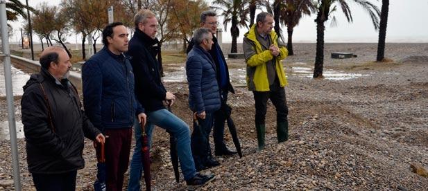 """Martínez: """"El PP nos ponemos el servicio de la provincia y exigimos un plan urgente y adecuado que frene la regresión de la costa"""""""