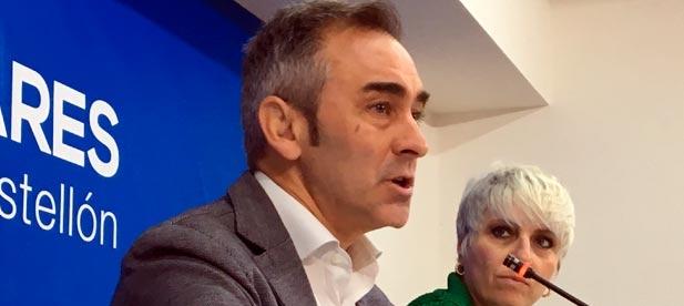 """Barrachina: """"Al haber más gente trabajando se pueden pagar menos impuestos, haber más inversiones y mejores prestaciones sociales para Castellón"""""""