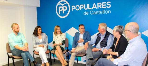 """Barrachina: """"Con el gobierno del Partido Popular, el sueldo de los empleados públicos crecerá hasta un 8,8% en tres años, lejos de la bajada del 5% aprobada por el PSOE"""""""
