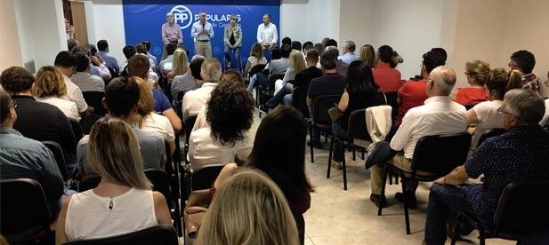 """Vicente-Ruiz: """"Estamos en disposición de iniciar la reconquista de la provincia porque somos el partido que más se parece a la provincia"""""""