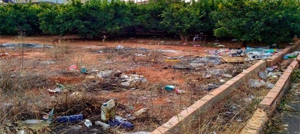 El PP de Nules ha propuesto un refuerzo de la limpieza en zona urbana y áreas perimetrales en respuesta a las quejas vecinales.