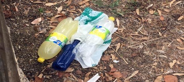 """Desdel el grupo municipal del PP en la localidad, """"no es la primera vez que denunciamos las basuras que se acumulan en espacios públicos"""""""