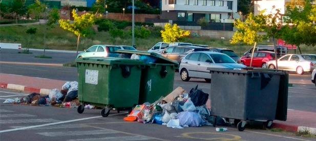 """El PP ha recibido, este fin de semana, a través de los canales de comunicación varias fotografías que demuestran el """"estado de abandono y la suciedad que se acumula en el Paraje de San José"""""""