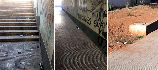 García ya reclamó a principios de octubre incrementar las labores de limpieza viaria, ha vuelto a reivindicar este esfuerzo.