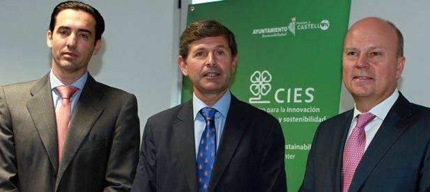"""El Alcalde de Castellón, Alfonso Bataller asiste a la presentación del nuevo """"Cluster de la Energía de la Comunidad Valenciana"""" presentado en el Centro para la Innovación en Energía y Sostenibilidad de Castellón (CIES-CS)"""
